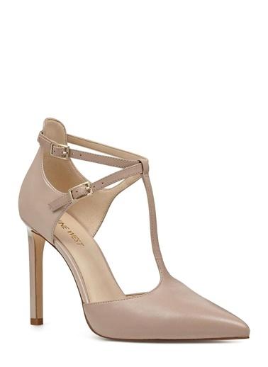 Deri Stiletto Ayakkabı-Nine West